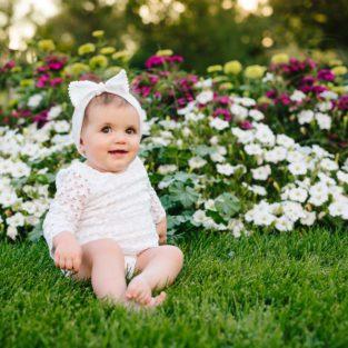 Denver City Park flowerbeds