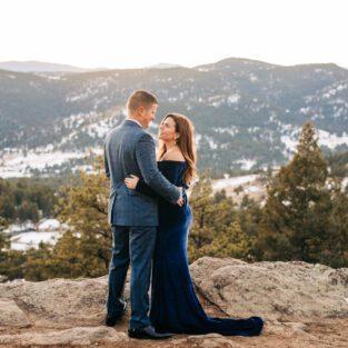 mountain maternity session, colorado maternity photographer, Denver photographer